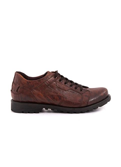 Kemal Tanca %100 Deri Bağcıklı Ayakkabı Taba